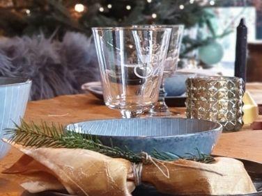 Keuken in kerstsfeer