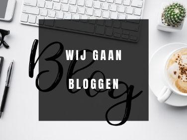 Wij gaan bloggen